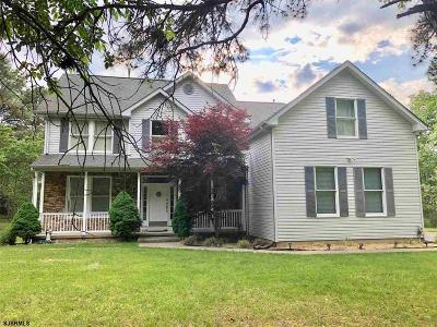Galloway Township Single Family Home For Sale: 63 S New York Rd Road