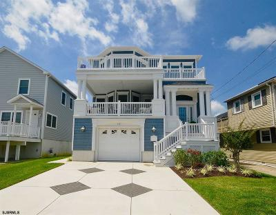 Brigantine Single Family Home For Sale: 112 N 6th Street