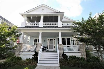 Ocean City Condo/Townhouse For Sale: 2536 Central Ave #1st Floo