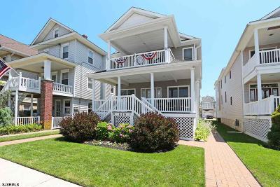Ocean City Condo/Townhouse For Sale: 611 Ocean Avenue #2