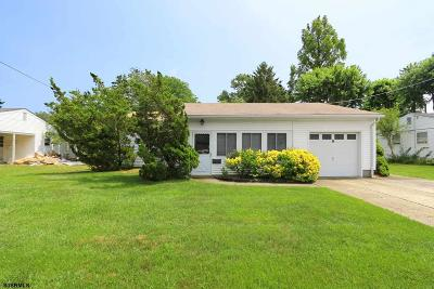 Somers Point Single Family Home For Sale: 9 N Ambler Road