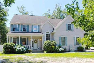 Egg Harbor Township Single Family Home For Sale: 1587 Somers Point Rd Road