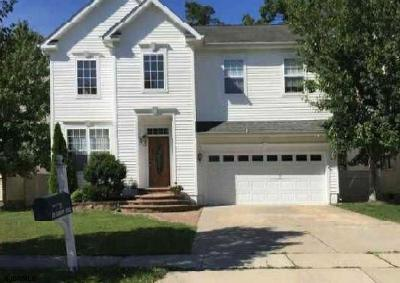 Mays Landing Single Family Home For Sale: 128 Camelot Circle