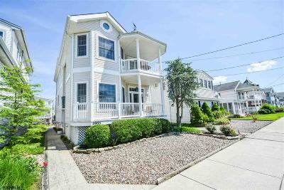 Ocean City Single Family Home For Sale: 4905 Asbury Ave
