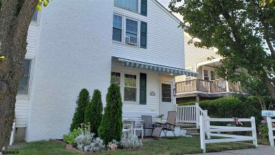 Ocean City Condo/Townhouse For Sale: 48 Central Ave #North Si
