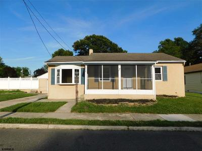 Absecon Single Family Home For Sale: 248 Marlin Rd