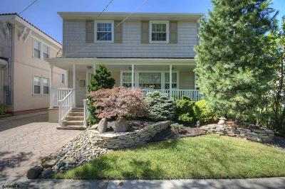 Margate Single Family Home For Sale: 6 N Lancaster Ave Ave