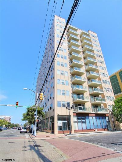 Atlantic City Condo/Townhouse For Sale: 2834 Atlantic Ave # 804 #804