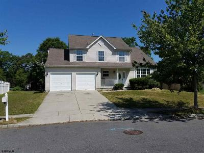 Egg Harbor Township Single Family Home For Sale: 34 Ivystone Dr