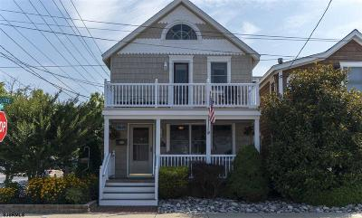 Ocean City Single Family Home For Sale: 301 15th St Street