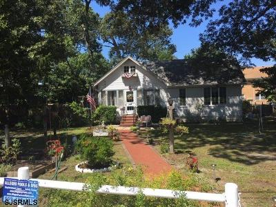 Somers Point Single Family Home For Sale: 111 Buffalo Ave