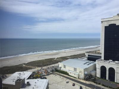 Atlantic City Condo/Townhouse For Sale: 3101 Boardwalk #1615