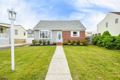 Brigantine Single Family Home For Sale: 134 N Roosevelt Blvd