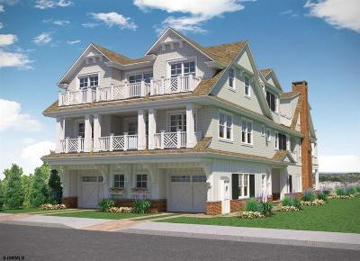 Ocean City Condo/Townhouse For Sale: 2519 Wesley Ave #2