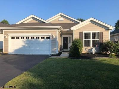 Galloway Township Single Family Home For Sale: 542 Newport Ct