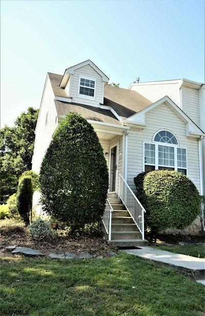 Mays Landing Condo/Townhouse For Sale: 4700 Arrowood Pl #4700