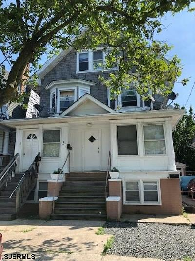 Atlantic City Multi Family Home For Sale: 3 S Raleigh Ave Ave