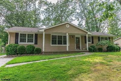 Vineland Single Family Home For Sale: 2456 Sanford Dr