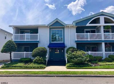 Somers Point Condo/Townhouse For Sale: 124 Pleasant Ave #C