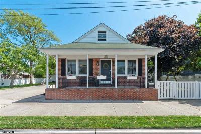 Ventnor Single Family Home For Sale: 303 N Washington Ave