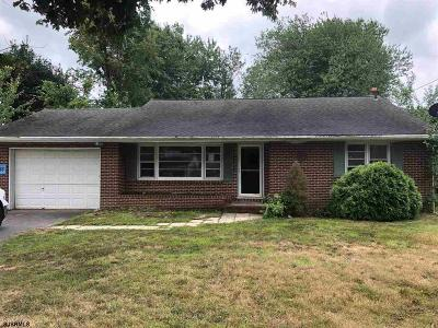 Vineland Single Family Home For Auction: 1875 E Walnut Road