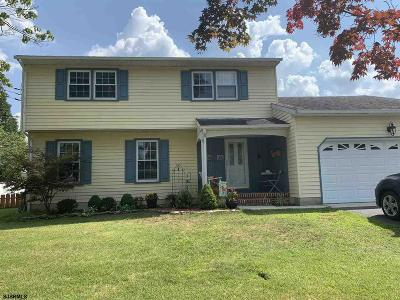 Vineland Single Family Home For Sale: 933 Tanglewood Ln