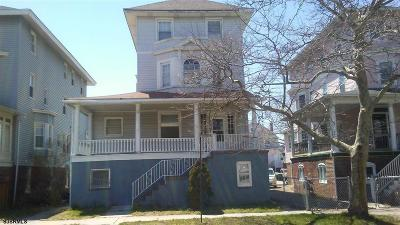 Atlantic City Single Family Home For Sale: 42 S Delancy Pl