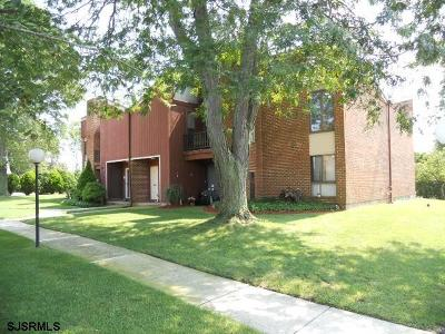 Somers Point Condo/Townhouse For Sale: 1f Parkshore Plaza #1F