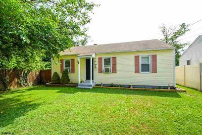 Vineland Single Family Home For Sale: 535 Hazel Ave