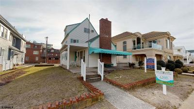 Longport Single Family Home For Sale: 114 S 18th Ave