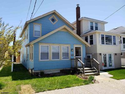 Ocean City Single Family Home For Sale: 937 Pleasure Ave