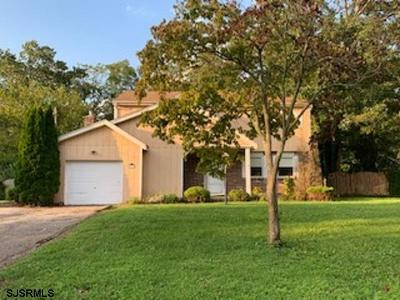 Vineland Single Family Home For Sale: 2758 Magnolia Road