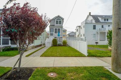 Ocean City Single Family Home For Sale: 1653 West Ave