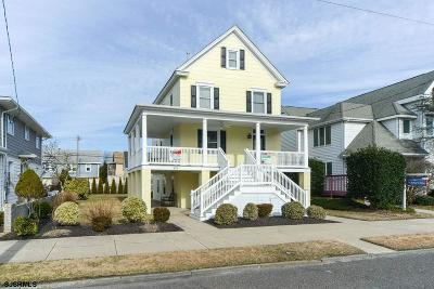 Ocean City Single Family Home For Sale: 320 Wesley Ave