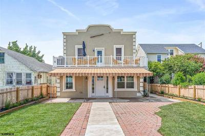 Somers Point Condo/Townhouse For Sale: 128 Gibbs Ave #3