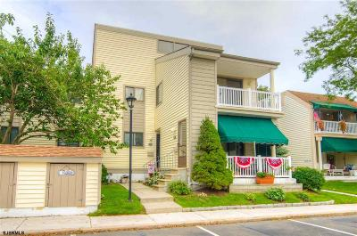 Ocean City Condo/Townhouse For Sale: 124 S Inlet Dr #2nd floo