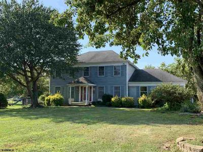 Vineland Single Family Home For Sale: 121 W Weymouth Road