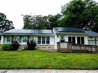 Somers Point Single Family Home For Sale: 10 Northview Dr