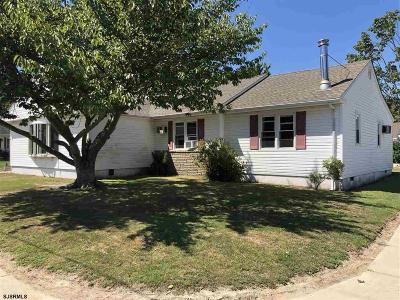 Somers Point Single Family Home For Sale: 138 Exton Ave