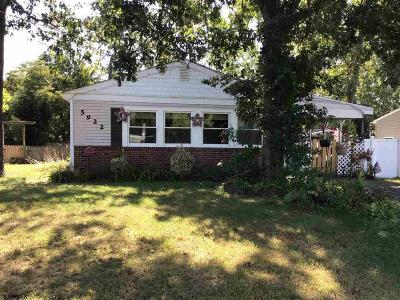 Mays Landing Single Family Home For Sale: 5922 Mulberry Dr