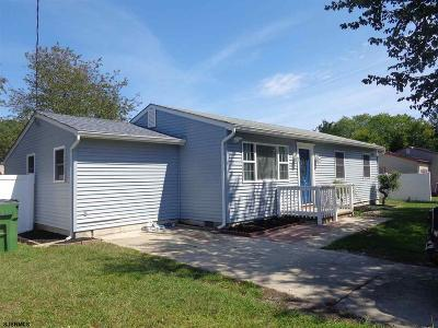 Egg Harbor Township Single Family Home For Sale: 106 Lucille Drive