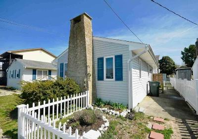 Brigantine Single Family Home For Sale: 201 S 5th