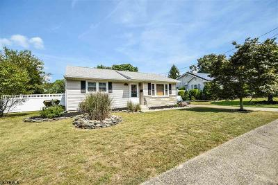 Somers Point Single Family Home For Sale: 20 Lehigh Ave