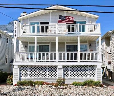 Ocean City Condo/Townhouse For Sale: 5414 Central Ave Ave #2
