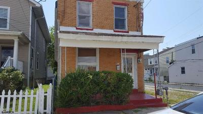 Atlantic City Single Family Home For Sale: 414 Madison Ave