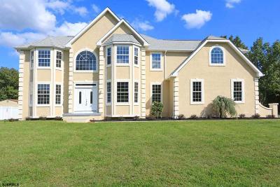 Egg Harbor Township Single Family Home For Sale: 250 Mystic Dr