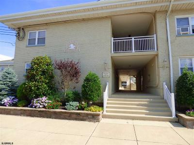 Longport Condo/Townhouse For Sale: 1600 Atlantic Ave #57