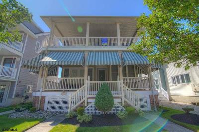 Ocean City Condo/Townhouse For Sale: 886 3rd Street #2