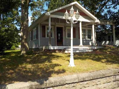 Somers Point Single Family Home For Sale: 741 First Ave