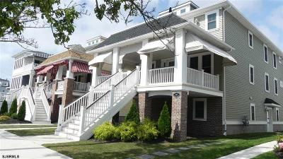 Ocean City Condo/Townhouse For Sale: 834 Wesley Ave #2